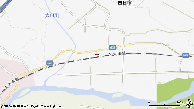 大分県玖珠郡玖珠町四日市670周辺の地図
