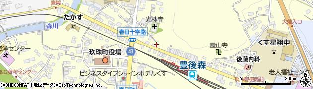 大分県玖珠郡玖珠町帆足240周辺の地図