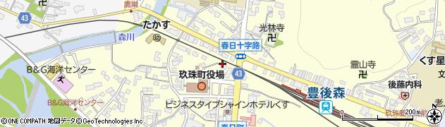 大分県玖珠郡玖珠町帆足228周辺の地図