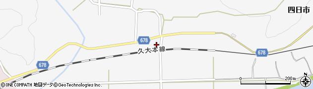 大分県玖珠郡玖珠町四日市802周辺の地図
