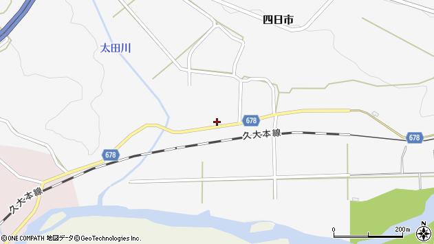 大分県玖珠郡玖珠町四日市685周辺の地図