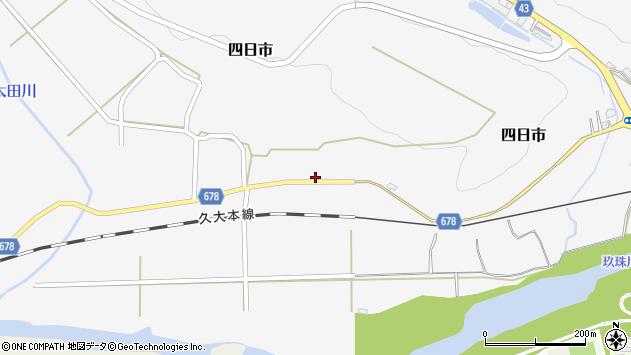 大分県玖珠郡玖珠町四日市833周辺の地図