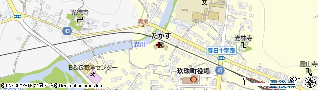 大分県玖珠郡玖珠町帆足216周辺の地図