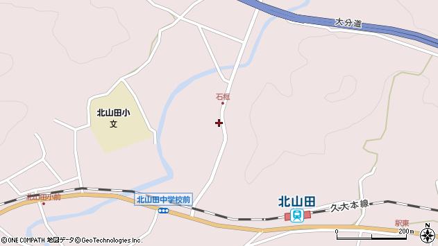 大分県玖珠郡玖珠町戸畑1788周辺の地図