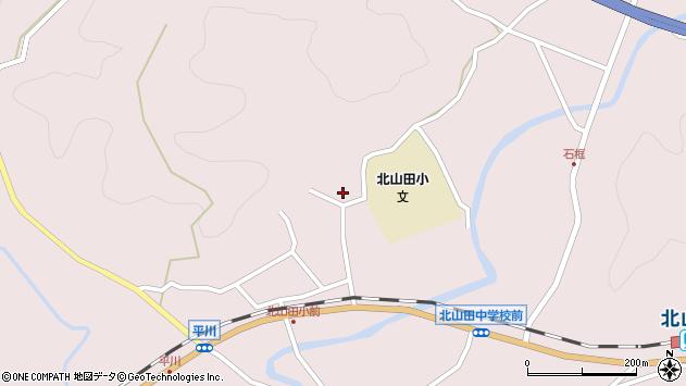 大分県玖珠郡玖珠町戸畑3063周辺の地図