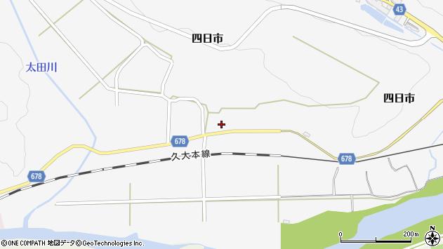大分県玖珠郡玖珠町四日市815周辺の地図