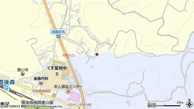 大分県玖珠郡玖珠町帆足594周辺の地図