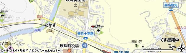 大分県玖珠郡玖珠町帆足154周辺の地図