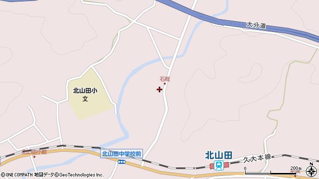 大分県玖珠郡玖珠町戸畑1780周辺の地図