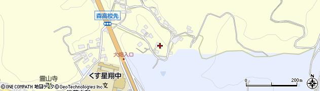 大分県玖珠郡玖珠町帆足573周辺の地図