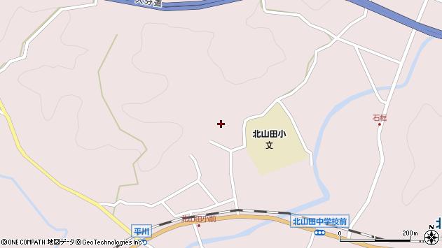 大分県玖珠郡玖珠町戸畑3059周辺の地図