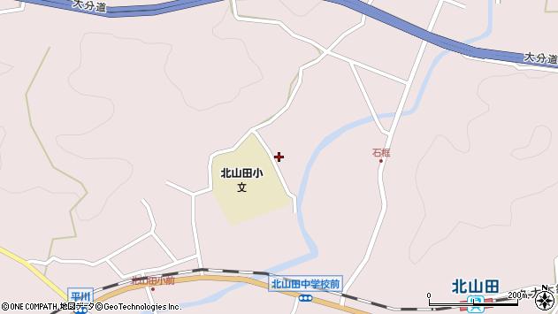 大分県玖珠郡玖珠町戸畑2858周辺の地図
