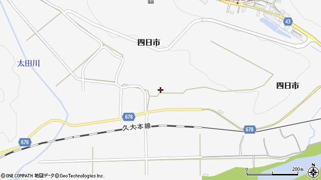 大分県玖珠郡玖珠町四日市810周辺の地図