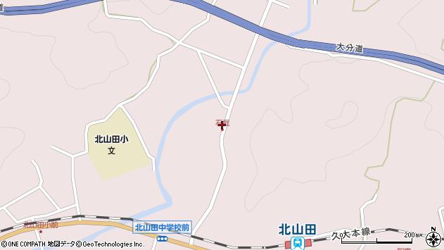 大分県玖珠郡玖珠町戸畑1777周辺の地図