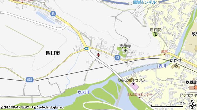 大分県玖珠郡玖珠町四日市268周辺の地図