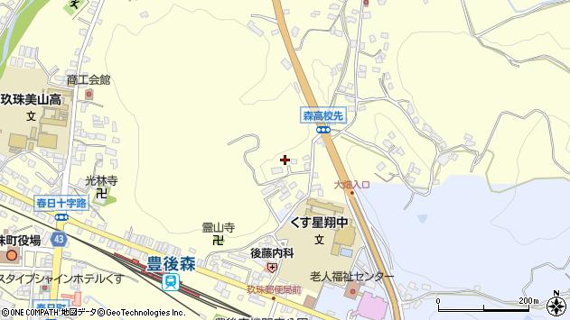 大分県玖珠郡玖珠町帆足520周辺の地図
