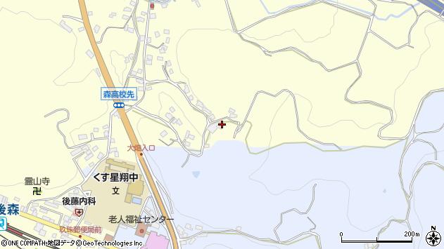 大分県玖珠郡玖珠町帆足619周辺の地図