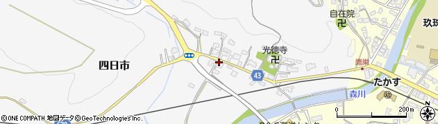 大分県玖珠郡玖珠町四日市270周辺の地図