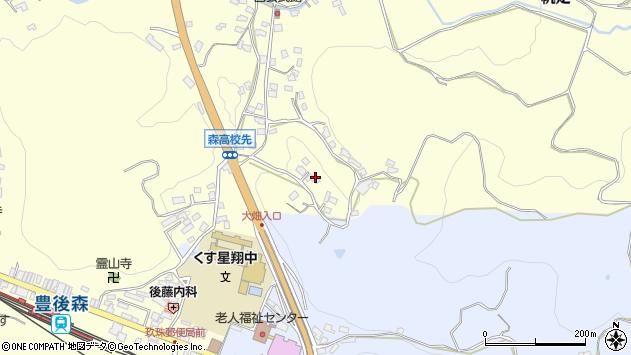 大分県玖珠郡玖珠町帆足570周辺の地図
