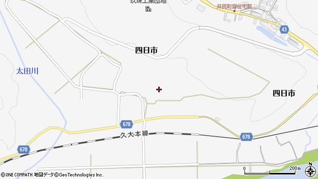 大分県玖珠郡玖珠町四日市770周辺の地図