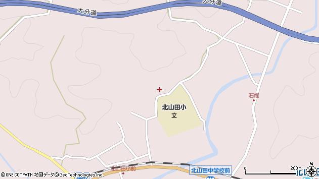大分県玖珠郡玖珠町戸畑3132周辺の地図