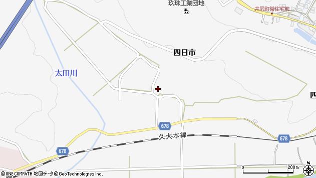 大分県玖珠郡玖珠町四日市721周辺の地図