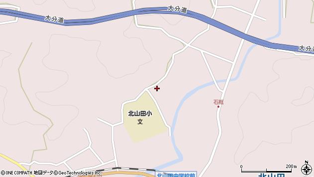 大分県玖珠郡玖珠町戸畑2850周辺の地図
