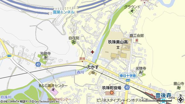 大分県玖珠郡玖珠町帆足2739周辺の地図