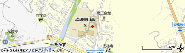 大分県玖珠郡玖珠町帆足160周辺の地図