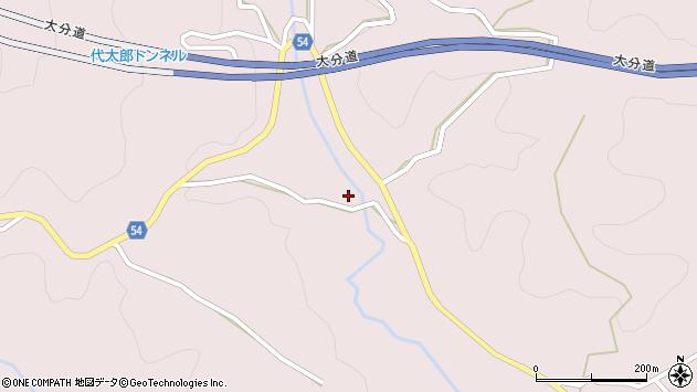 大分県玖珠郡玖珠町戸畑5373周辺の地図
