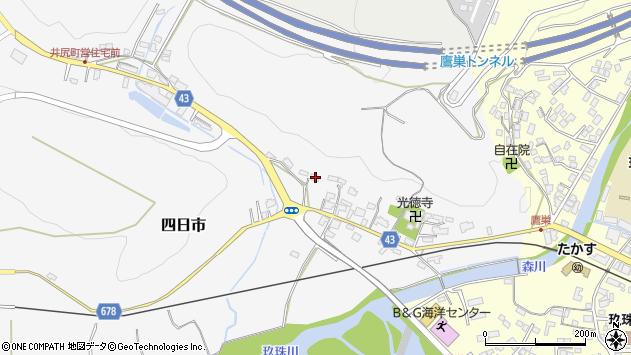 大分県玖珠郡玖珠町四日市248周辺の地図