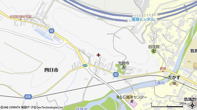 大分県玖珠郡玖珠町四日市292周辺の地図