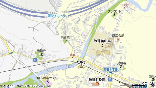 大分県玖珠郡玖珠町帆足2732周辺の地図