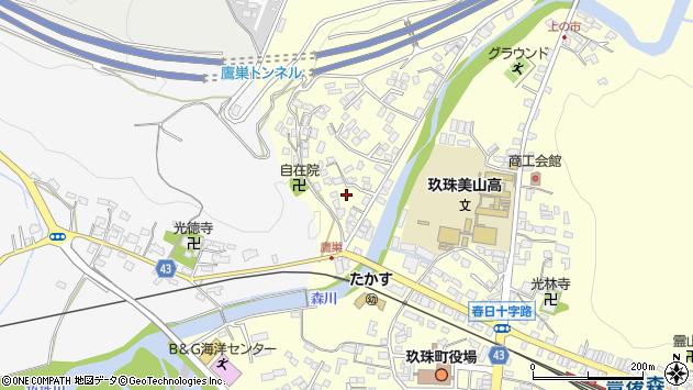 大分県玖珠郡玖珠町帆足2719周辺の地図
