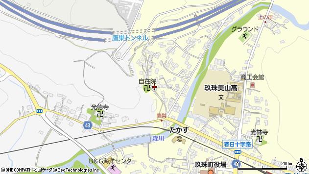 大分県玖珠郡玖珠町帆足2715周辺の地図