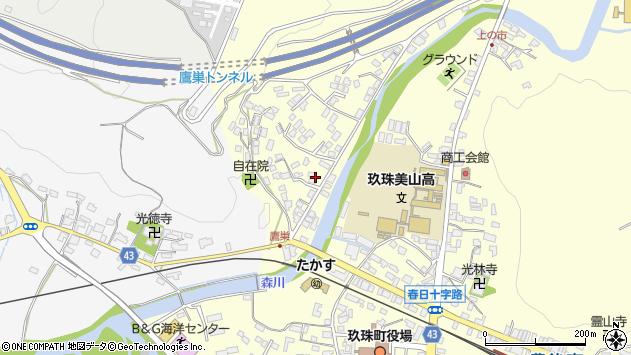 大分県玖珠郡玖珠町帆足2731周辺の地図