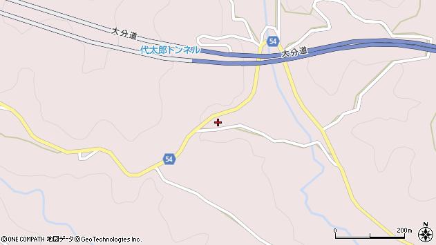 大分県玖珠郡玖珠町戸畑5401周辺の地図