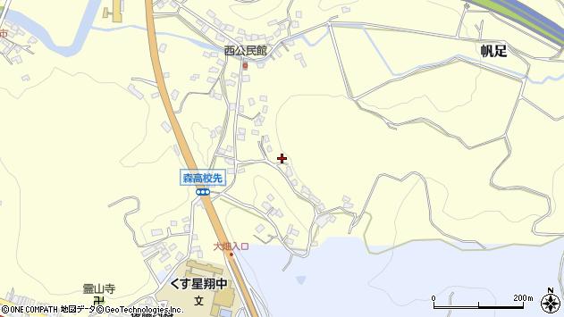 大分県玖珠郡玖珠町帆足683周辺の地図