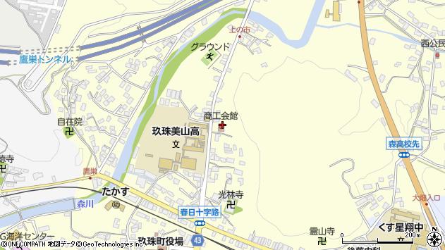 大分県玖珠郡玖珠町帆足125周辺の地図