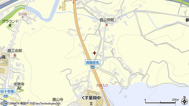 大分県玖珠郡玖珠町帆足764周辺の地図