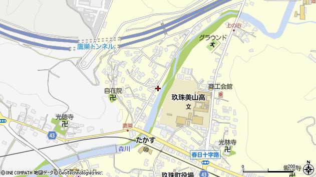 大分県玖珠郡玖珠町帆足2641周辺の地図
