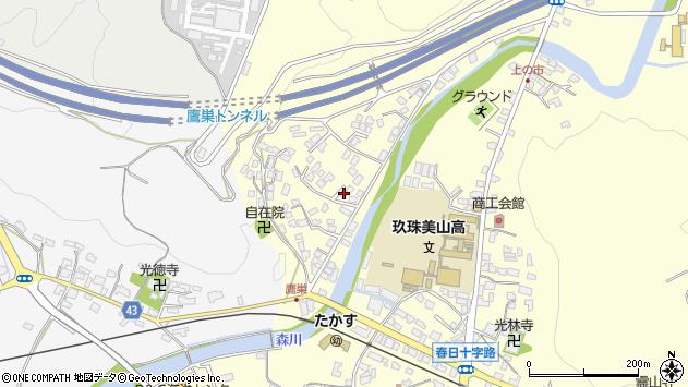 大分県玖珠郡玖珠町帆足2644周辺の地図