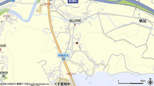 大分県玖珠郡玖珠町帆足747周辺の地図