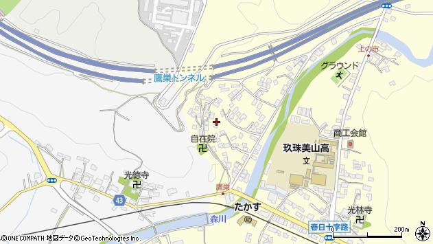 大分県玖珠郡玖珠町帆足2725周辺の地図