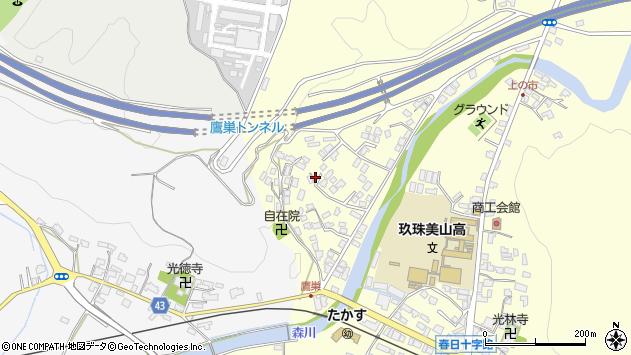 大分県玖珠郡玖珠町帆足2726周辺の地図