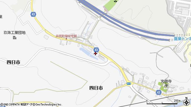 大分県玖珠郡玖珠町四日市205周辺の地図