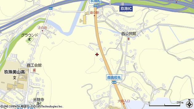 大分県玖珠郡玖珠町帆足815周辺の地図