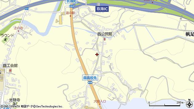 大分県玖珠郡玖珠町帆足866周辺の地図