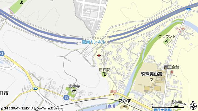 大分県玖珠郡玖珠町帆足2693周辺の地図