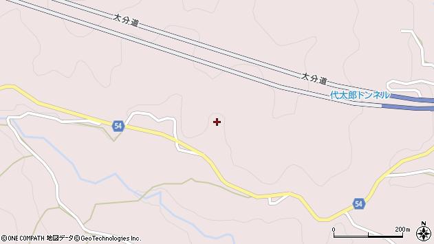 大分県玖珠郡玖珠町戸畑5047周辺の地図